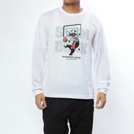 バスケットボールジャンキー BASKETBALL JUNKY バスケットボール 長袖Tシャツ SLAM+5 ロングDryTEE BSK18503