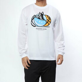 バスケットボールジャンキー BASKETBALL JUNKY バスケットボール 長袖Tシャツ ケースの家+1 ロングDryTEE BSK18506