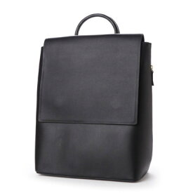 ヒッチハイクマーケット HITCH HIKE MARKET Long flap ruck sack (ブラック)