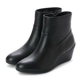 【アウトレット】【本革】イングマニア ing mania 防水レザーショートブーツ (ブラック)