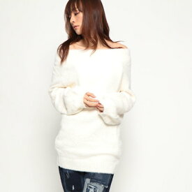 【アウトレット】ゲス GUESS MAYA SWEATER (REGENCY BEIGE)