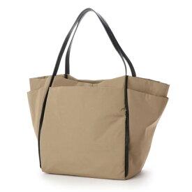 クーコ COOCO ナイロンポケットトートバッグ【A4サイズ対応】 (ベージュ)