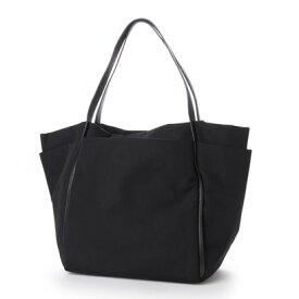 クーコ COOCO ナイロンポケットトートバッグ【A4サイズ対応】 (ブラック)