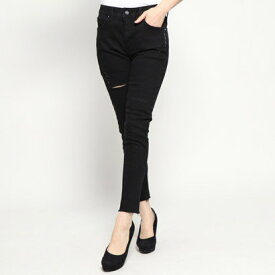 ゲス GUESS ULTRA ANKLE SKINNY DENIM PANT (BLACK)