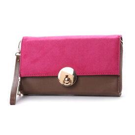 【アウトレット】キュリビスキュイ CURI BISCUI 3WAYお財布クラッチ (Pink)