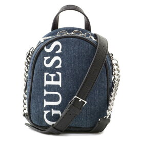 ゲス GUESS URBAN CHIC LOGO MINI CROSSBODY BAG (DENIM)