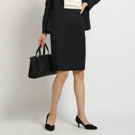 インディヴィ INDIVI [S]ストレッチタイトスカート (ブラック)