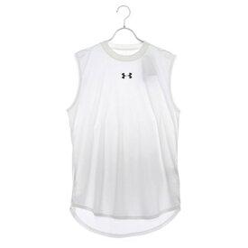 【アウトレット】アンダーアーマー UNDER ARMOUR バスケットボール ノースリーブシャツ UA LONGSHOT SL Tee 1331558