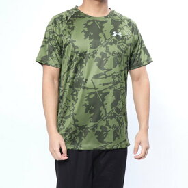 【アウトレット】アンダーアーマー UNDER ARMOUR メンズ 陸上/ランニング 半袖Tシャツ UA Speed Stride Printed SS 1320208