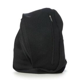 クーコ COOCO フロントジップ リュック A4 ユニセックス 人気 (ブラック)