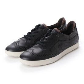 エコー ECCO COLLIN 2.0 Sneaker (BLACK/COFFEE)
