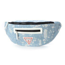 ゲス GUESS PCH WAISTPACK (LIGHT DENIM)