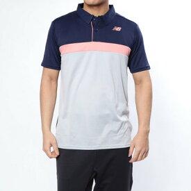 ニューバランス new balance メンズ テニス 半袖ポロシャツ JMTT9137
