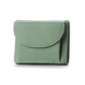 ヒッチハイクマーケット HITCH HIKE MARKET Botanical colorミニ財布 (グリーン)