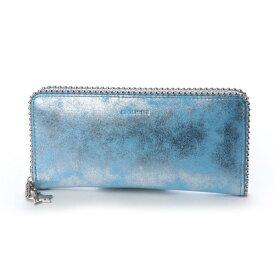 【アウトレット】セシルマクビー CECIL McBEE チャーリーシリーズ ラウンド長財布 (ブルー)