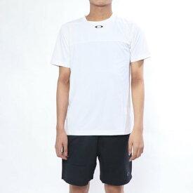 【アウトレット】オークリー OAKLEY メンズ テニス 半袖Tシャツ Enhance Slant Graphic Crew 9.0 457722