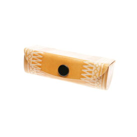 【アウトレット】【チャイハネ】インド山羊革ズニ柄リップケース ベージュ