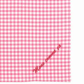 コムサイズム COMME CA ISM MONO ロゴ 刺繍 ハンカチ (ピンク)