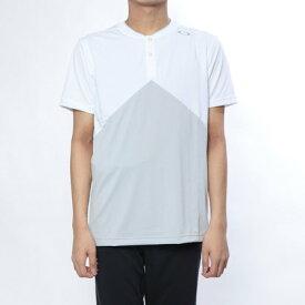 【アウトレット】オークリー OAKLEY メンズ テニス 半袖Tシャツ Enhance Slant Henley 9.0 457723