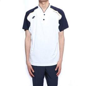 エスエスケイ SSK 野球 半袖Tシャツ ベースボール2ボタンTシャツ BW1901