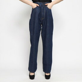 ゲス GUESS JANE HIGH RISE RELAX STRAIGHT DENIM PANT 【JAPAN EXCLUSIVE ITEM】 (INDIGO BLUE)