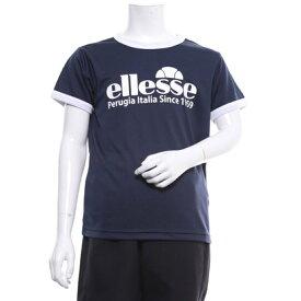 エレッセ ellesse ジュニア テニス 半袖Tシャツ S/Sプラクティスロゴクルー EM09106