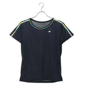 エレッセ ellesse レディース テニス 半袖Tシャツ ショルダープリントティー EW09130