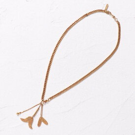 【アウトレット】ナノ ユニバース NANO UNIVERSE outlet 【CHLOE】LB/KEIRA Short Necklace (ゴールド)