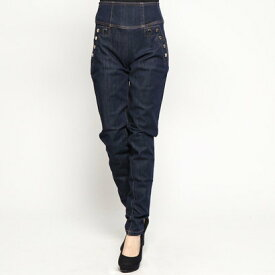 【アウトレット】ゲス GUESS CURVE X HIGH BUTTON SKINNY DENIM PANT (BLUE DELUX)