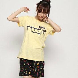 【アウトレット】オーシャンパシフィック OCEAN PACIFIC レディス Tシャツ (YEL)【返品不可商品】
