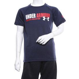 【アウトレット】アンダーアーマー UNDER ARMOUR ジュニア 野球 半袖Tシャツ UA Tech Text Youth TShirt 1331540