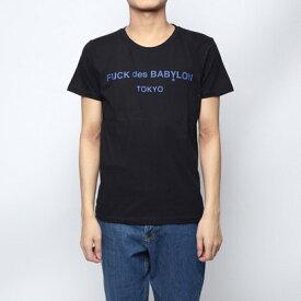 ジェイド JADE (ユニセックス) :JADE × RUGGEDコラボレーションTシャツ -ブラック (BLA)
