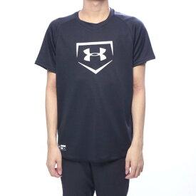 【アウトレット】アンダーアーマー UNDER ARMOUR メンズ 野球 半袖Tシャツ UA Big Logo Baseball Shirt 1331502