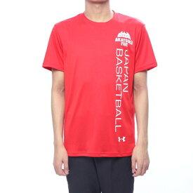 アンダーアーマー UNDER ARMOUR バスケットボール 半袖Tシャツ UA JAPAN BK Tee Vertical logo 1348176