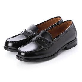 ジョーマリノ JO MARINO メンズ ローファー 学生靴 撥水加工 軽量 防滑 防臭 3E 通勤 通学 (ブラック)