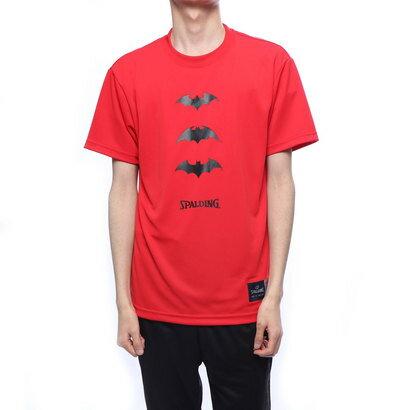 スポルディング SPALDING バスケットボール 半袖Tシャツ Tシャツーバットマン スリーアイコン SMT190460