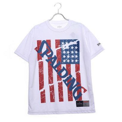 スポルディング SPALDING バスケットボール 半袖Tシャツ Tシャツースター&ストライプス SMT190160