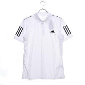 アディダス adidas メンズ テニス 半袖ポロシャツ TENNIS CLUB 3STR POLO DU0849