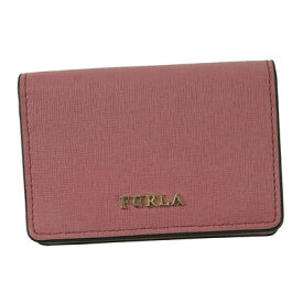 フルラ FURLA BABYLON S BUSINESS CARD CASE (AZALEA f)