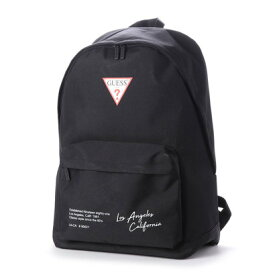 ゲス GUESS TRIANGLE LOGO BACKPACK (BLACK)