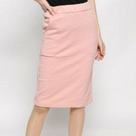 【アウトレット】イェッカヴェッカ YECCA VECCA outlet 裏毛Iラインスカート (ピンク)