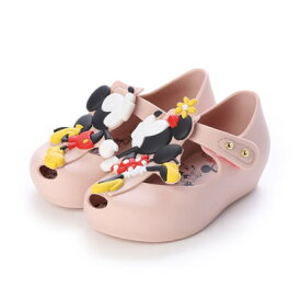 【アウトレット】メリッサ melissa MINI MELISSA ULTRAGIRL + DISNEY TWINS III BB (LIGHT PINK)