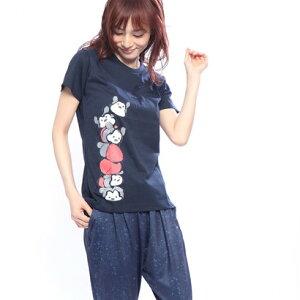 ディズニー Disney レディース 半袖Tシャツ D...