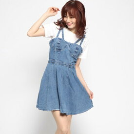 【アウトレット】ゲス GUESS DHARMA DENIM DRESS (MEDIUM BICE)
