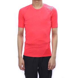 【アウトレット】アディダス adidas メンズ フィットネス 半袖コンプレッションインナー ALPHASKIN TEAM ショートスリーブTシャツ DU6559