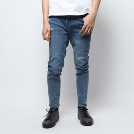 ゲス GUESS REGULAR TAPERED DENIM PANT (MEDIUM BLUE)