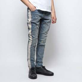 ゲス GUESS UTILITY FIT DENIM PANT (ADDISON WASH W/ DESTROY)