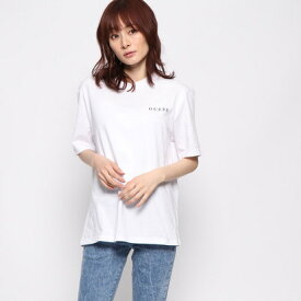 【アウトレット】ゲス GUESS OVERSIZE BACK TRIANGLE LOGO TEE (WHITE)