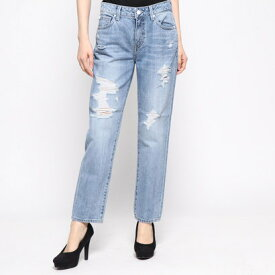 【アウトレット】ゲス GUESS TOMBOY DAMEGE DENIM PANT (LIGHT BLUE)