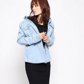 【アウトレット】ゲス GUESS DENIM SHIRT (LIGHT BLUE)